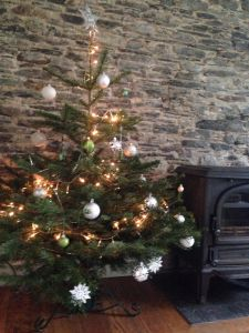 Cosy Christmas with log burner