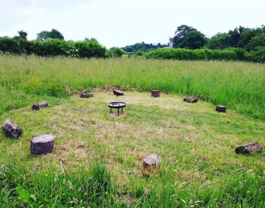 Meadow meditation Circle