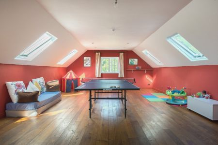 Games room with table tennis