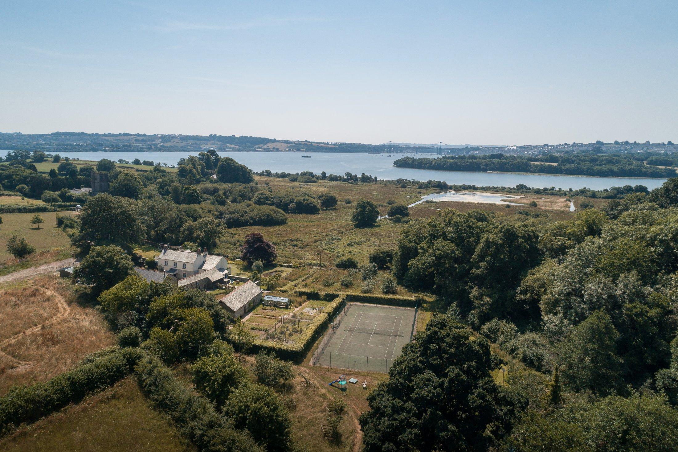 Lower Marsh Farm From Air 1