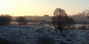 Frosty morning on the Salt Marsh