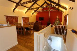 Christmas in Kingfisher Barn
