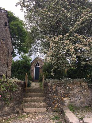 Entrance to Kingfisher Barn
